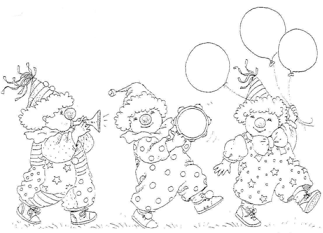 jos circus coloring pages - photo#43