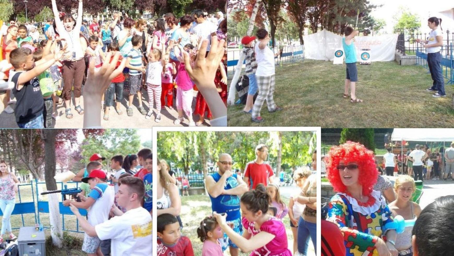 Ateliere pentru copii de 1 iunie