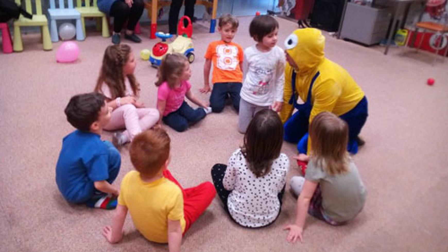Activitati si jocuri la petrecerea cu minioni
