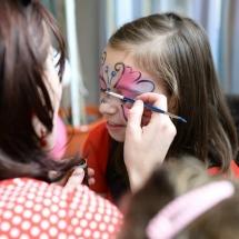 animatori pentru copii cu picturi pe fata, face painting copii cluj