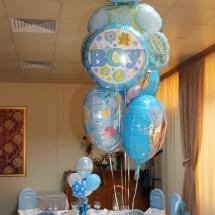baloane-botez, baloane pentru botez