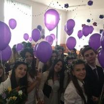 baloane cu heliu absolvire, baloane cu heliu cluj, decoratii cu baloane cluj,baloane balul bobocilor, baloane balul majoratului