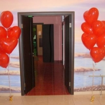 baloane inima cu heliu pentru ocazii speciale