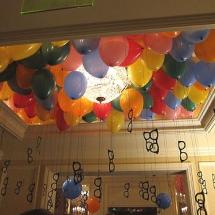 decoratii cu baloane cu heliu