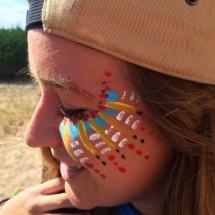 face painting, picturi pe fata tineri si adulti, body painting , artisti cu face painting evenimente si petreceri