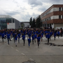servicii evenimente companii,pastel- tenaris- flash mob.