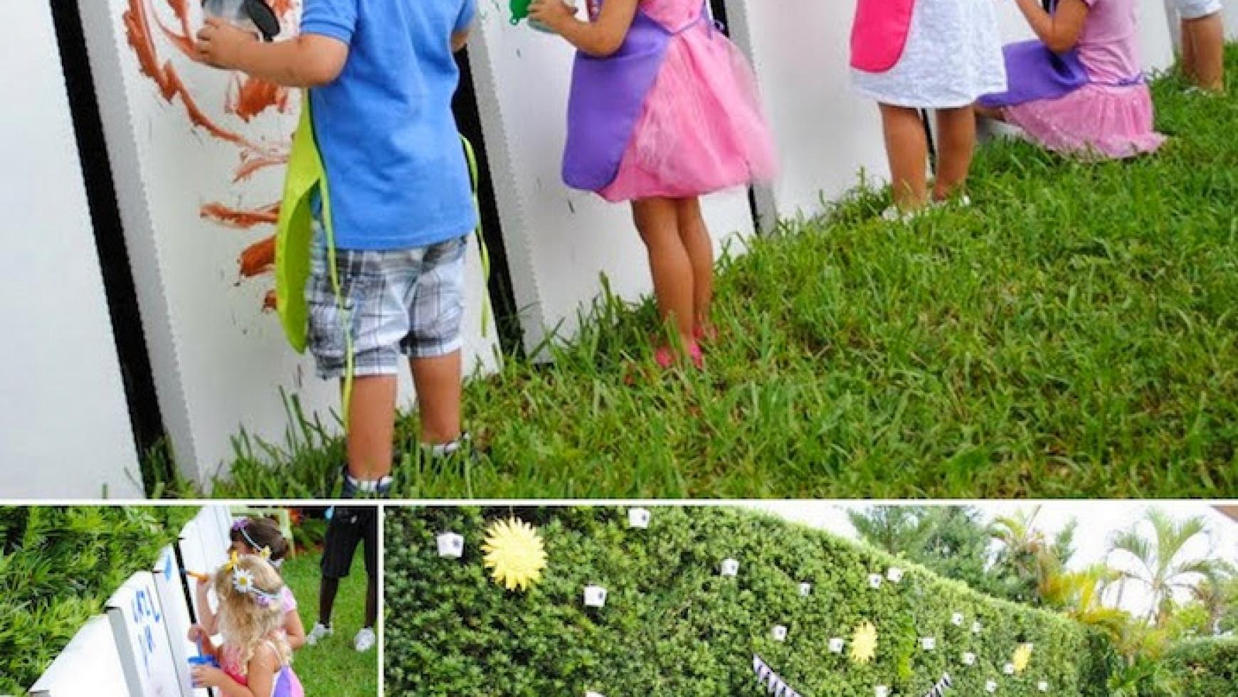 Atelier de pictura pentru copii la petreceri si evenimente
