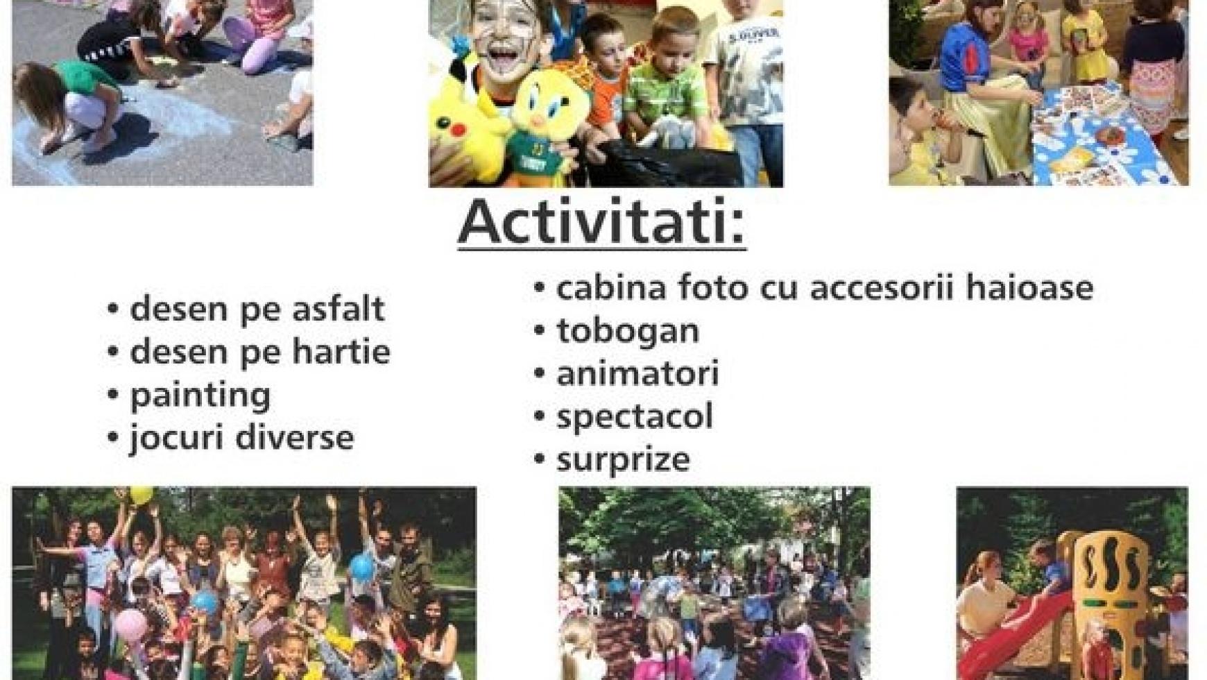Ateliere copii 1 iunie la Apahida